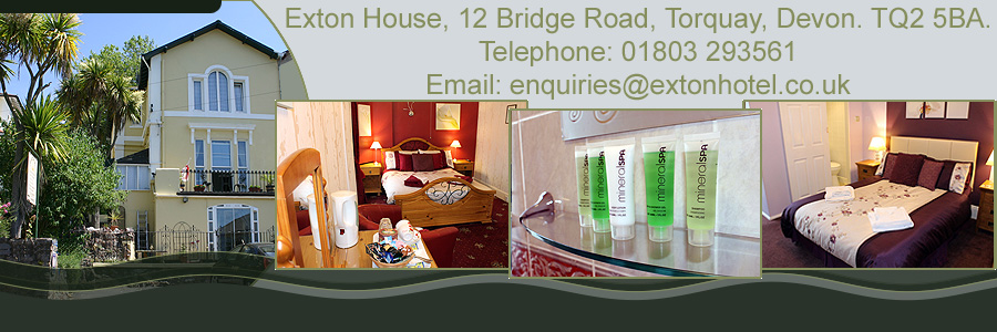 Exton House bed and breakfast Torquay